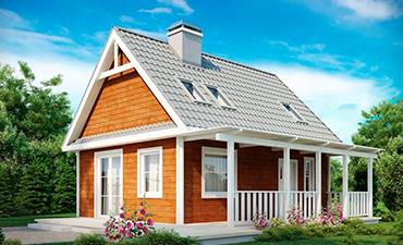 ВАЛЕНСИЯ - проект дома из профилированного бруса.