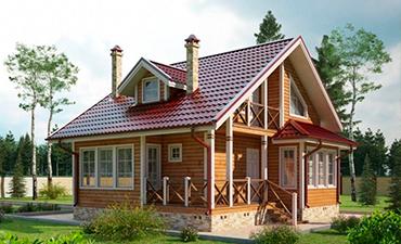 СОФИЯ - проект дома из профилированного бруса.