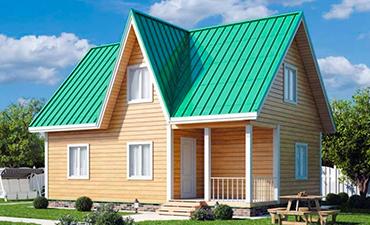 СЕВИЛЬЯ - проект дома из профилированного бруса.