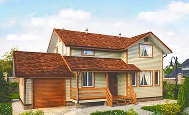 ТОЛЕДО - проект дома из профилированного бруса.