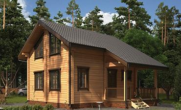 ВАРШАВА - проект дома из профилированного бруса.